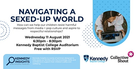 Kennedy Insights: Navigating a sexed-up world with Melinda Tankard Reist tickets