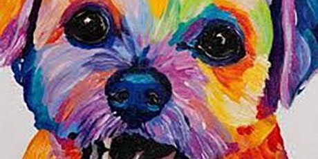 Kids Painting Class Colourful Doggy tickets