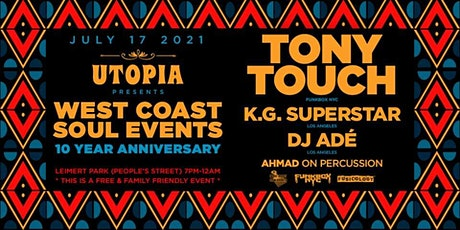 UTOPIA pres. WCS Event 10yr  Party w / TONY TOUCH tickets