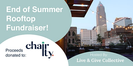 Rooftop Fundraiser supporting Chair-ity tickets