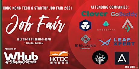 Hong Kong Tech and Startup Job Fair 2021 tickets