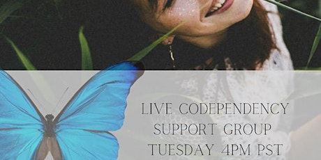 Online Codependency  Support Group- Tuesday tickets