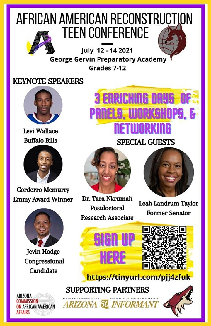 African American Reconstruction Teen Conference image