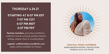 June Full Moon Gathering x Unfit Christian tickets