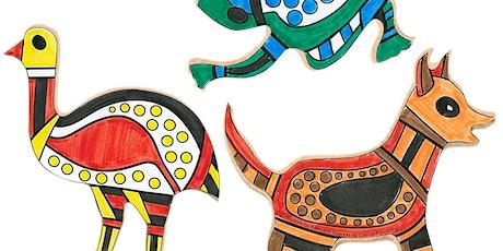 Free NAIDOC Event:  Kids Craft Workshops (Wooden Animals) tickets