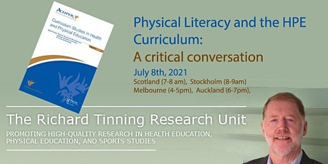 Physical literacy and the health and physical education curriculum tickets