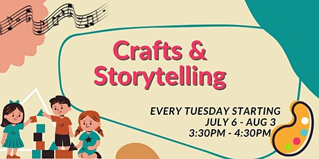 Crafts & Storytelling Class tickets