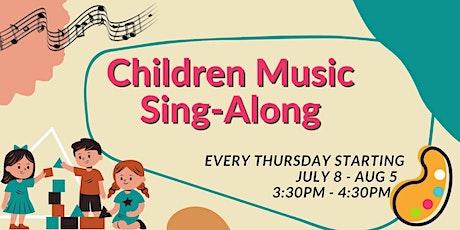 Children Music Sing-Along tickets