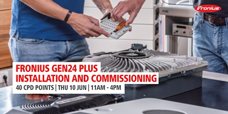 Primo GEN24 PLUS - Installation and Commissioning Workshop tickets