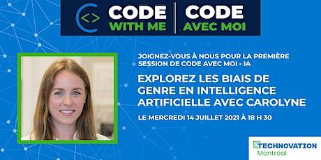 Code avec moi - IA  avec Carolyne Pelletier billets