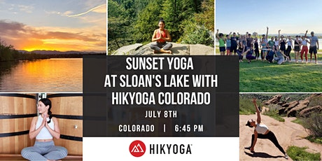 Sunset Yoga at Sloan's Lake with Hikyoga Colorado tickets