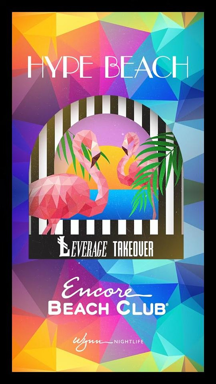 ŁEVERAGE THURSDAY TAKEOVERS AT ENCORE BEACH CLUB image