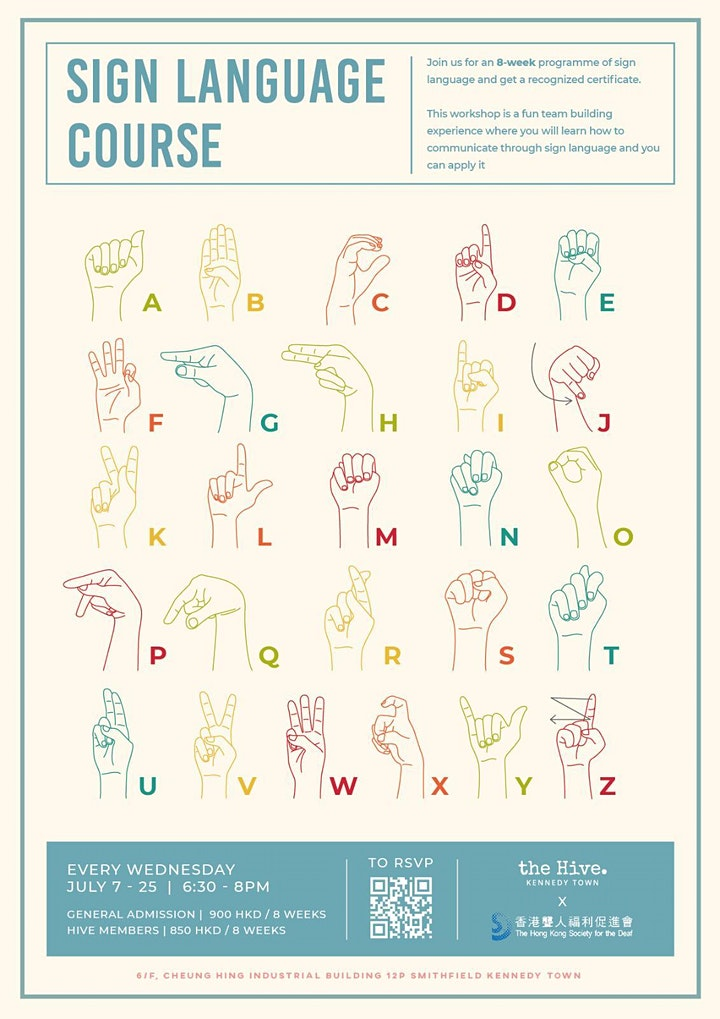 Sign Language Course by The Hong Kong Society for the Deaf image