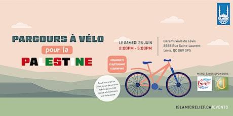 Parcours à vélo pour la Palestine | Quebec billets