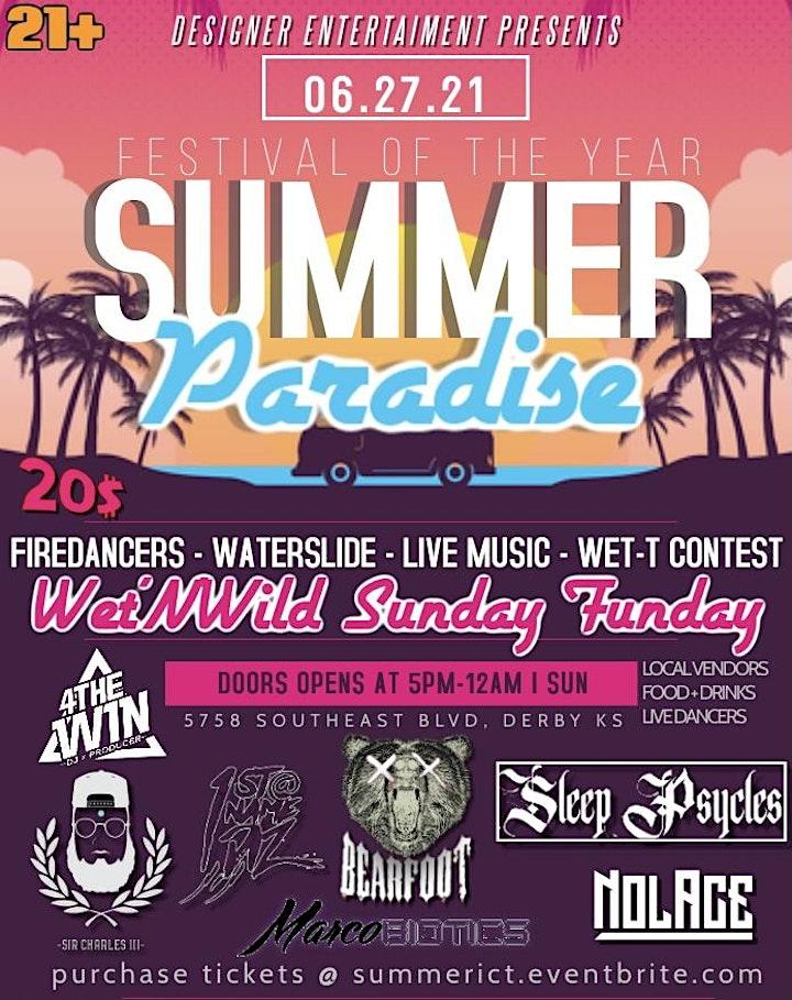 Wet'N'Wild - Summer Bash image