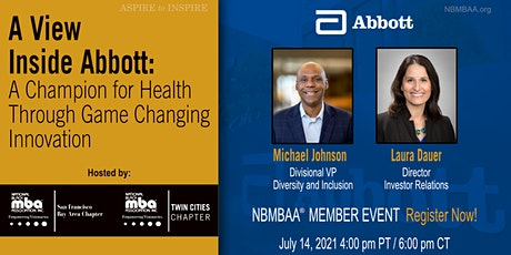 A View Inside Abbott: Champion for Health Through Game Changing Innovation tickets