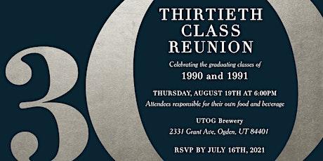 Ben Lomond 30th Class Reunion tickets