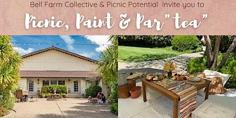 """Picnic, Paint & Par""""tea"""" tickets"""