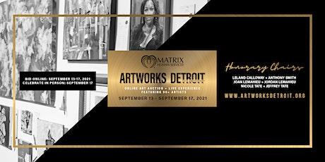 25th Annual Artworks Detroit tickets