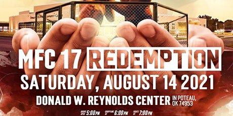 MFC 17 Redemption tickets