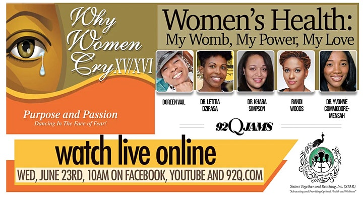 Why Women Cry XV/XVI  Purpose  & Passion...Dancing In The Face of Fear!!! image