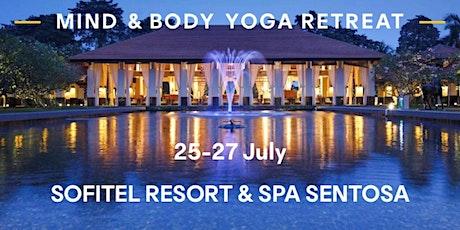 3D2N Body & Mind yoga retreat at Sofitel Sentosa tickets