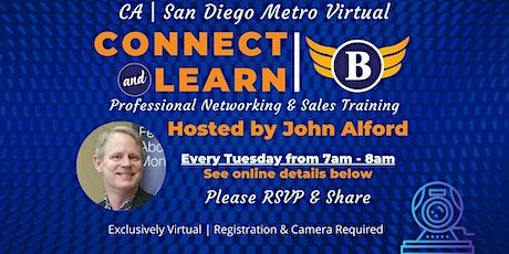 CA| San Diego Metro Area Virtual Networking entradas
