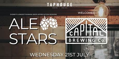 Ale Stars #140 - Capital Brewing Co tickets