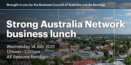 Strong Australia Network business lunch tickets