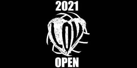 The 2021 Inaugural LOV Open tickets