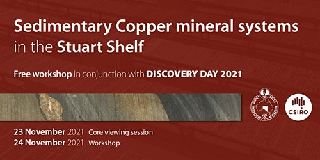 Sedimentary Copper mineral systems - core viewing session tickets