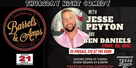 Smokin' Barrels Comedy with Jesse Peyton tickets
