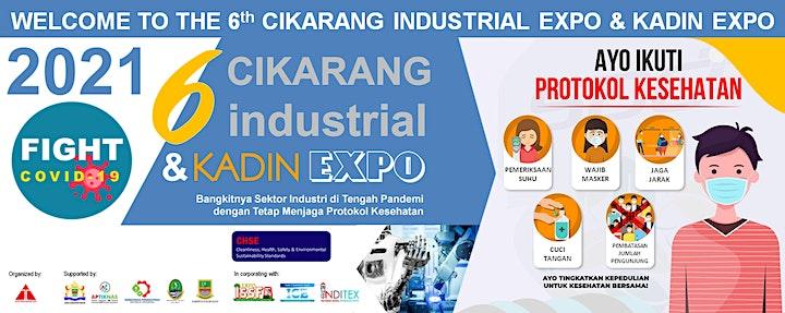 The 6th Cikarang Industrial Expo (CIE 2021) image