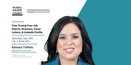 Fine-Tuning Your Job Search, Resumes, Cover Letters, & LinkedIn Profile tickets