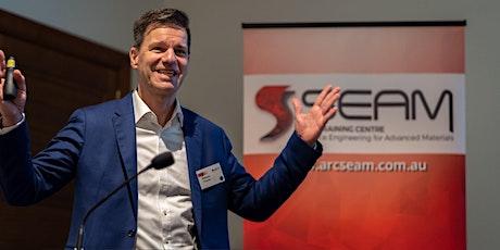 SEAM Webinar by Helmut Thiessen (CSIRO) & Peter Kingshott (Swinburne) tickets