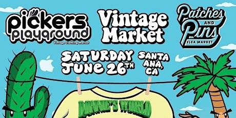 Pickers Playground Orange County (Vintage Market) tickets