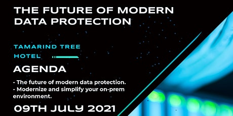 THE FUTURE OF MODERN DATA PROTECTION tickets