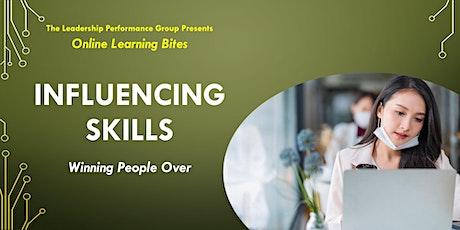 Winning People Over: Influencing Skills (Online - Run 20) tickets