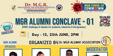 MGR ALUMNI CONCLAVE 01 (Covid Challenges & Solution for Academic, Industrie tickets