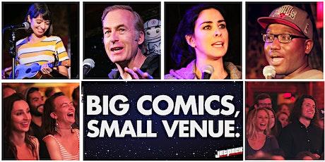 Jetpack Comedy Show: Big Comics, Small Venue tickets