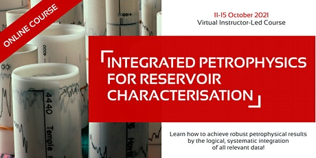 Integrated Petrophysics for Reservoir Characterisation tickets
