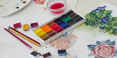 Watercolour Painting @ Holyrood Pavilion tickets