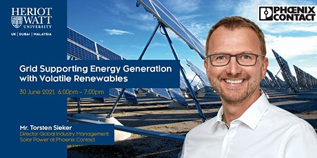 Grid Supporting Energy Generation with Volatile Renewables tickets
