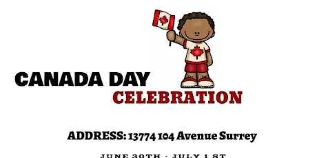 CANADA DAY RED AND WHITE PARTY tickets