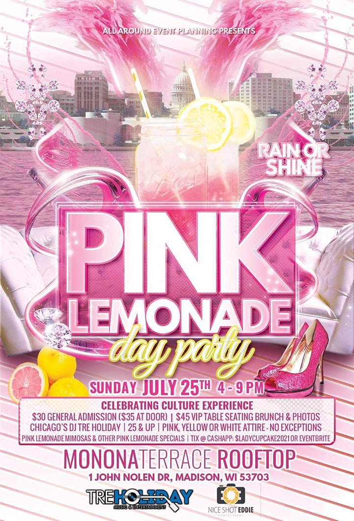 """Pink Lemonade Day Party """"Celebrating Culture Experiences image"""