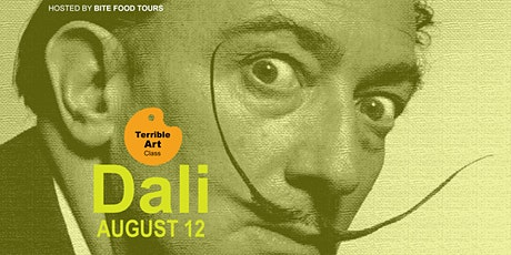 August TERRIBLE ART class - DALI ! tickets
