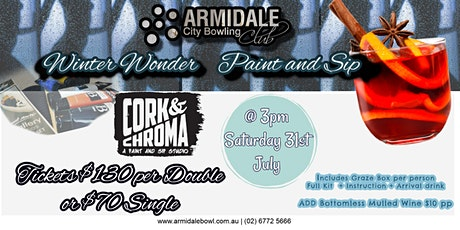 Winter Wonder  Paint and Sip by Cork and Chroma tickets