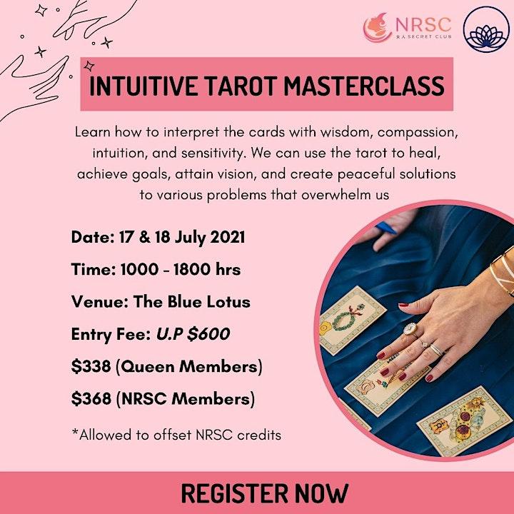 Intuitive Tarot Masterclass image