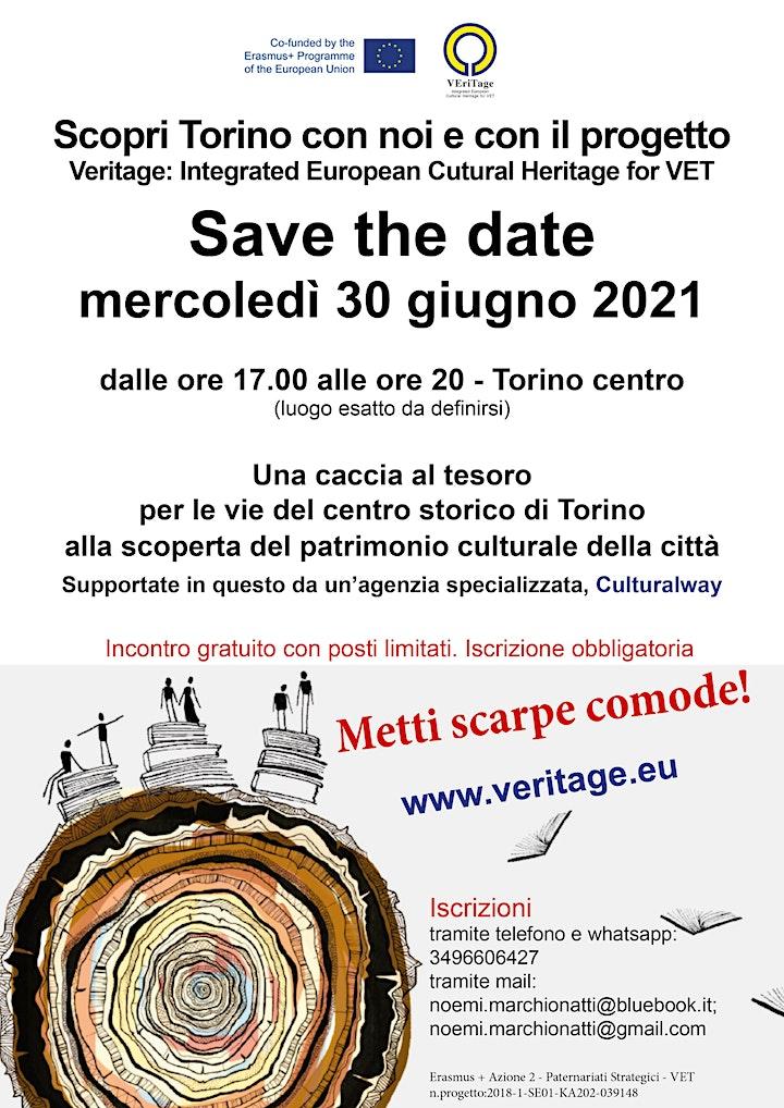 Immagine INCONTRO GRATUITO - Veritage: visita alla scoperta del patrimonio di Torino