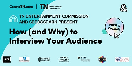 How (and Why) to Interview Your Audience tickets